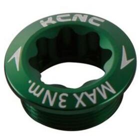 KCNC Crank Bolt for Shimano Crank Arm left green